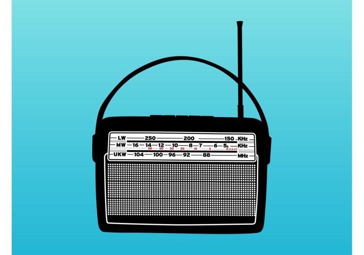 old-radio-vector